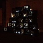 Libellum video objetos en Paço das Artes, USP, Sao Paulo